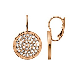 Dyrberg Kern - Rose gold plated earrings