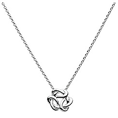 Heritage - Sterling silver trio rope necklet