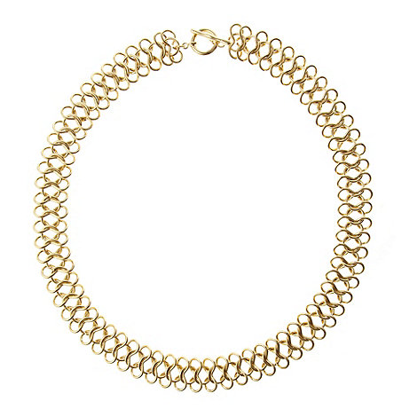 Finesse - Gold chunky chain necklace