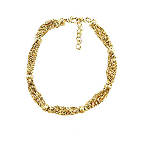Finesse - Gold multi chain bracelet