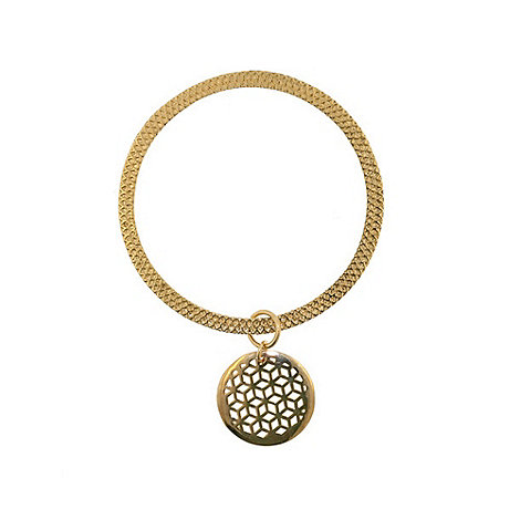 Finesse - Gold ring bracelet