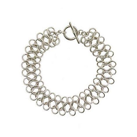 Finesse - Silver chain bracelet
