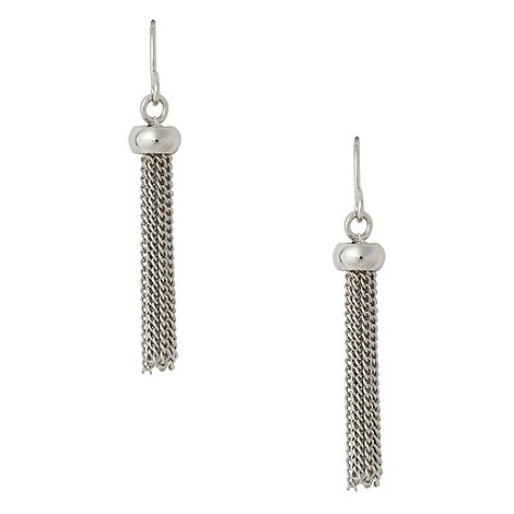 Finesse - Silver multi chain earrings