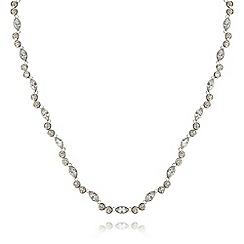 No. 1 Jenny Packham - Sterling silver almond stone necklace