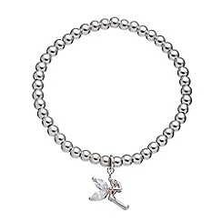 Little Ella - Silver plated Lexi fairy charm bracelet