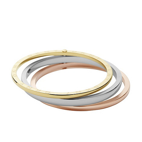 DKNY - Gold triple circle bangle