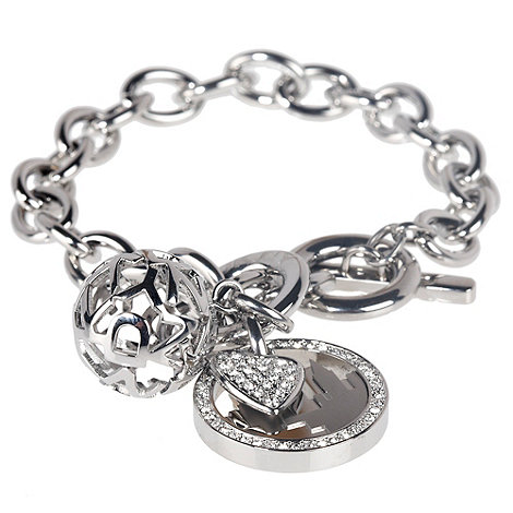 DKNY - Silver chained bracelet