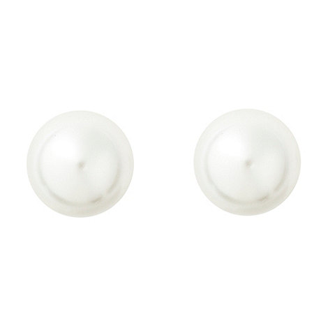 Finesse - Ivory pearl stud earrings