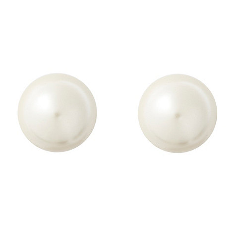 Finesse - Cream pearl stud earrings