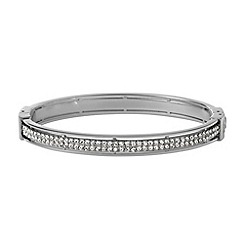 Fossil - Silver diamante bangle