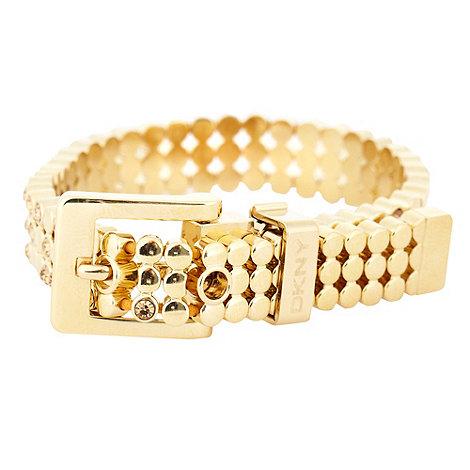 DKNY - Gold triple link bracelet