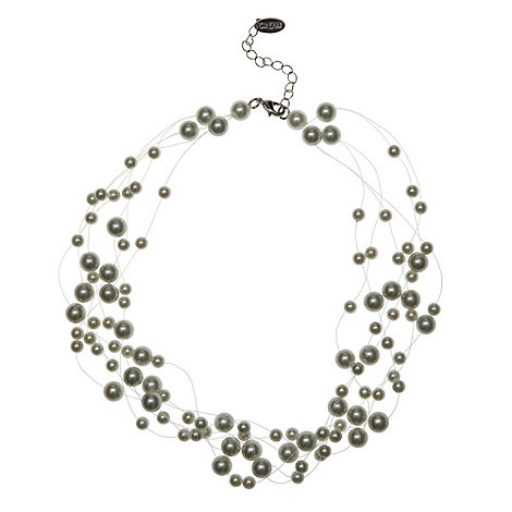 Finesse - Cream pearl bead necklace