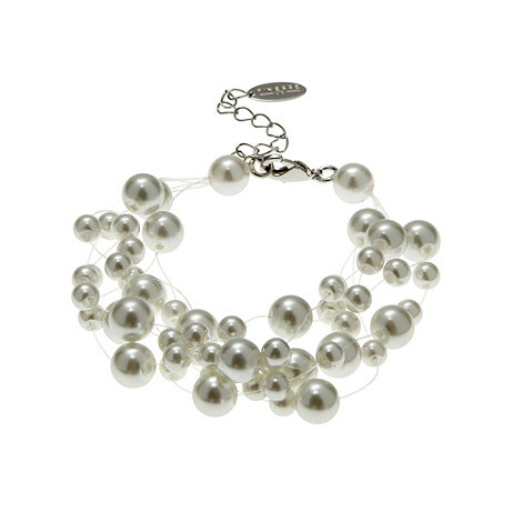 Finesse - Cream floating pearl bracelet