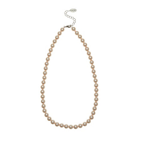 Finesse - Light pink 8mm pearl necklace