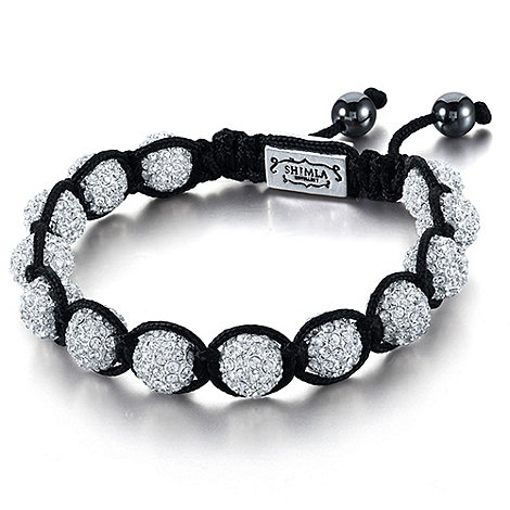Shimla - Silver fireball bracelet