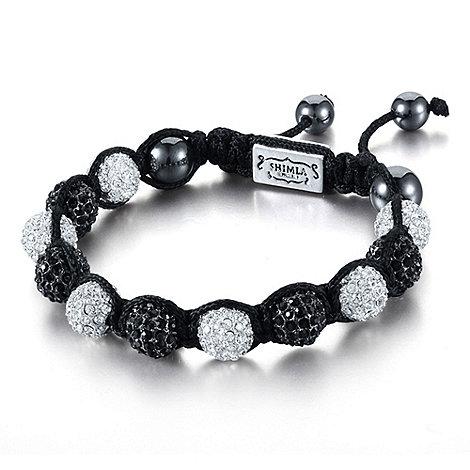 Shimla - Black contrast fireball bracelet