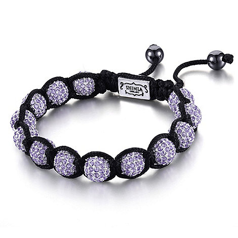 Shimla - Purple fireball bracelet