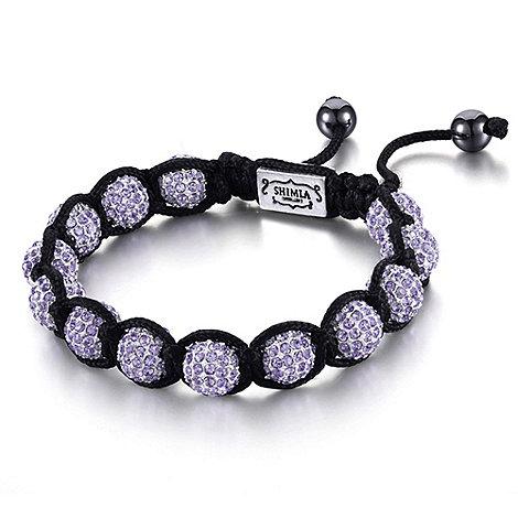 Shimla - Purple fireball bracelet
