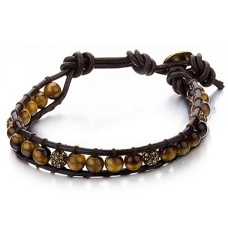 Shimla - Brown mini tigers eye bracelet