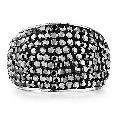 Shimla - Dark grey bling ring