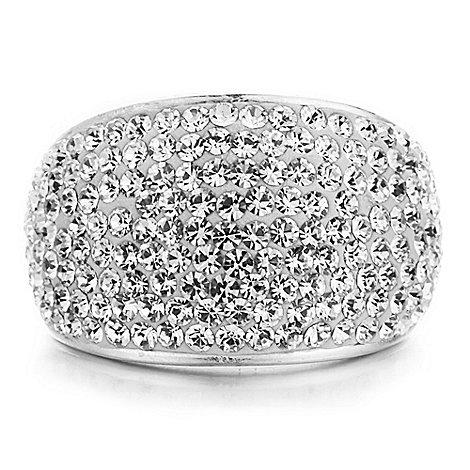 Shimla - Silver bling ring S/M
