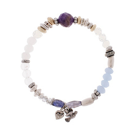 Martine Wester - Silver sparrow stretch bracelet