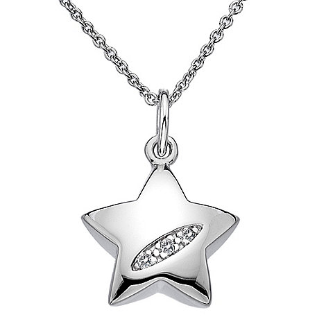 Hot Diamonds - Sterling silver diamond star pendant