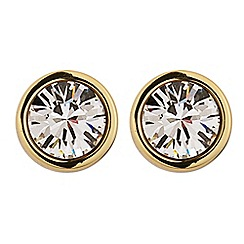 Dyrberg Kern - Gold 'noble' stud earrings