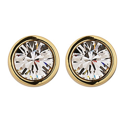 Dyrberg Kern - Gold +noble+ stud earrings