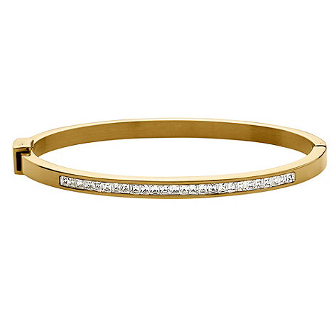 Dyrberg Kern - Gold +nuves s2+ crystal bracelet