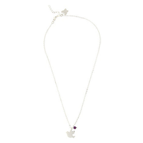 Miss Lola by Lola Rose - Purple dove necklace