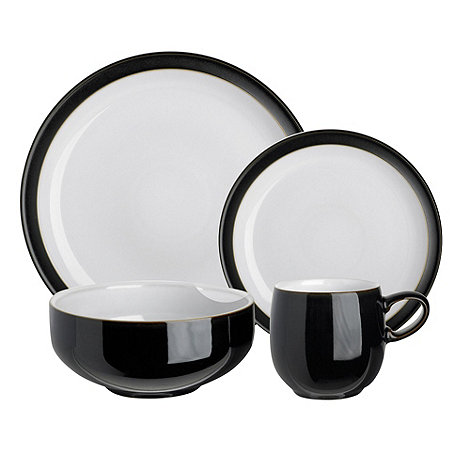 Denby - Jet sixteen piece dinner Set