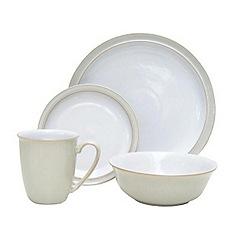 Denby - Linen sixteen piece dinner Set