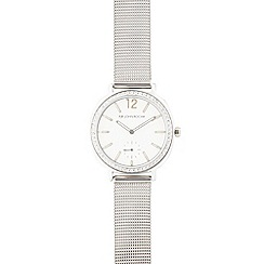 RJR.John Rocha - Silver stone bezel analogue watch