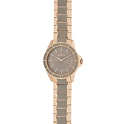 RJR.John Rocha - Ladies gold analogue watch