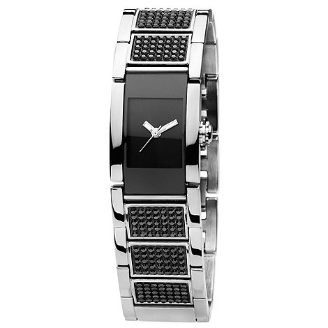 Dyrberg Kern - Ladies black +candice+ square dial watch
