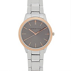 Infinite - Ladies silver plated bracelet strap analogue watch