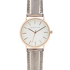 Red Herring - Ladies silver analogue watch