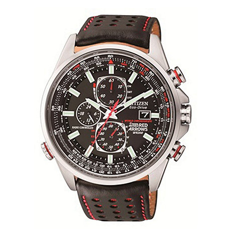Citizen - Men+s red arrows world chronograph a.t watch at8060-09e