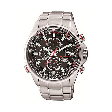 Citizen - Men+s red arrows world chronograph a.t watch at8060-50e