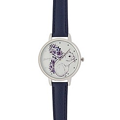 Mantaray - Ladies blue squirrel analogue watch