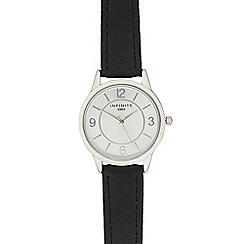 Infinite - Ladies black analogue watch