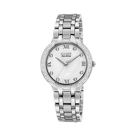 Citizen - Ladies +Eco-Drive+ bella watch em0120-58a