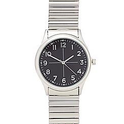 Infinite - Men's silver analogue watch