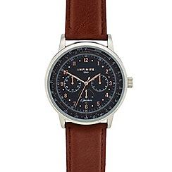 Infinite - Men's light brown analogue watch
