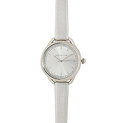Red Herring - Silver curved lug watch