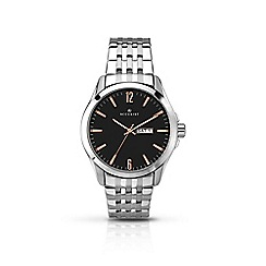 Accurist - Men's silver quartz bracelet watch