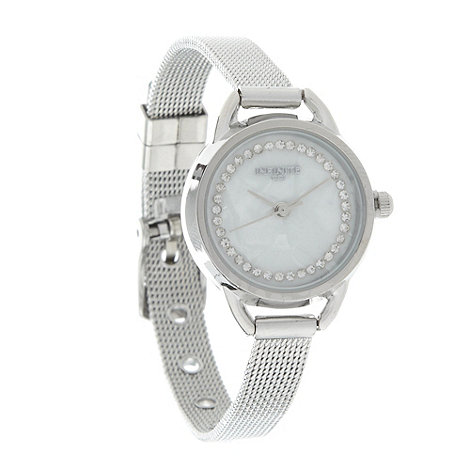 Infinite - Ladies silver analogue watch