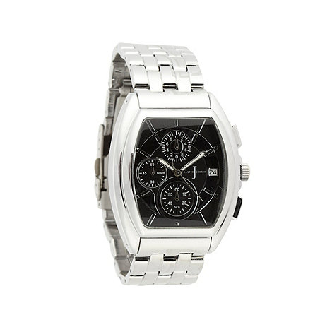 J by Jasper Conran - Designer men's silver chronograph watch