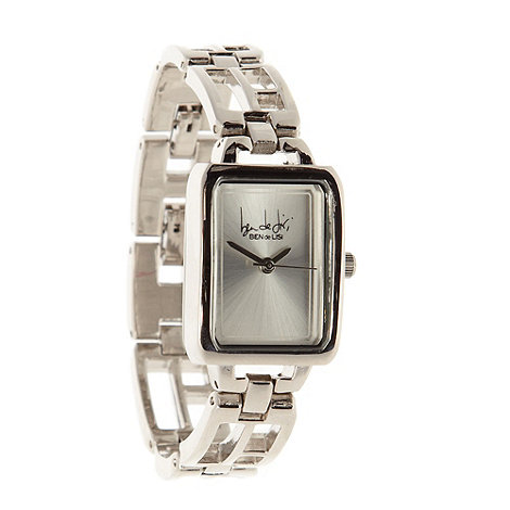 Principles by Ben de Lisi - Designer ladies silver cutout bracelet watch